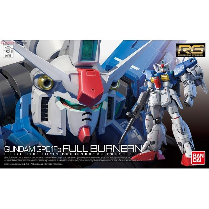 RX-78 GP01-Fb Gundam GP01 Full Burnern