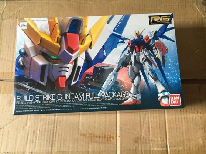 mô hình build strike gundam fullpackage