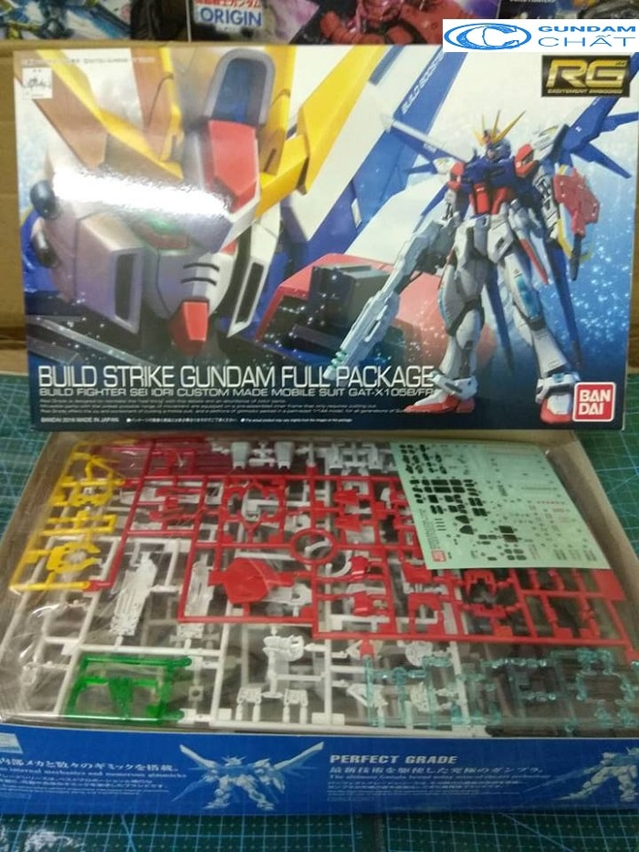 GAT-X105BFP Build Strike Gundam Full Package (RG)