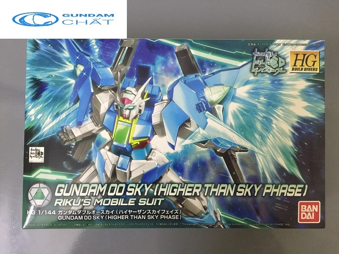 Gundam 00 Sky (Higher Than Skyphase) (HGBD) giá rẻ