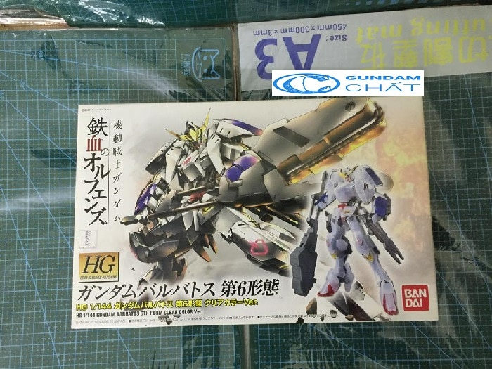 Gundam Barbatos 6th Form Clear Ver (HG) – 2 – 440k