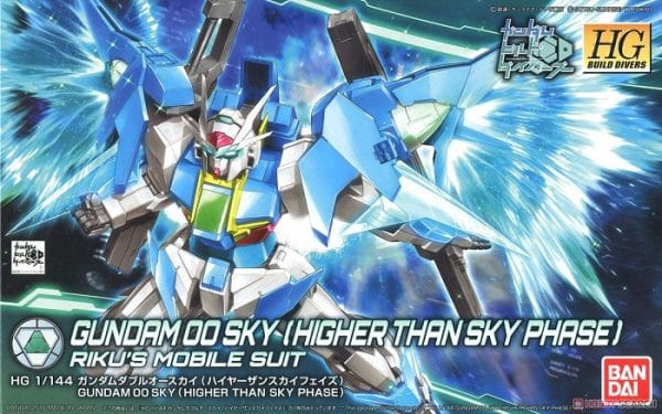Mô hình Gundam 00 Sky (Higher Than Skyphase) (HGBD)