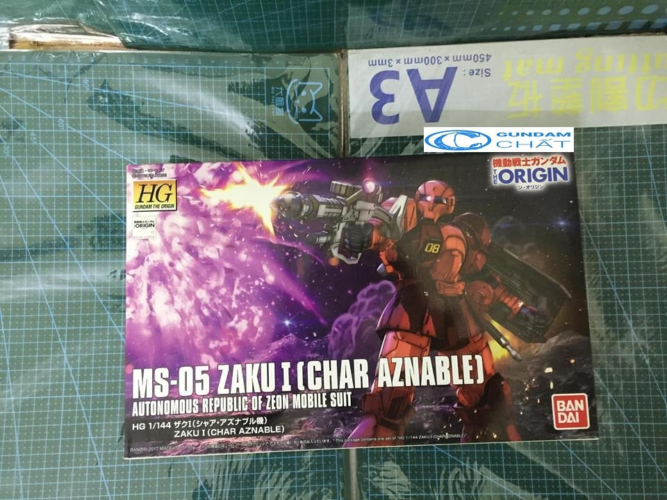 MS-05 Zaku I (Char Aznable`s)