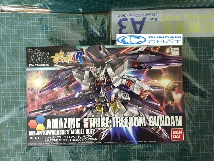 mazing Strike Freedom Gundam (HGBF)