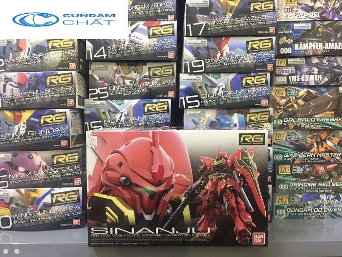 shop sinanju rg